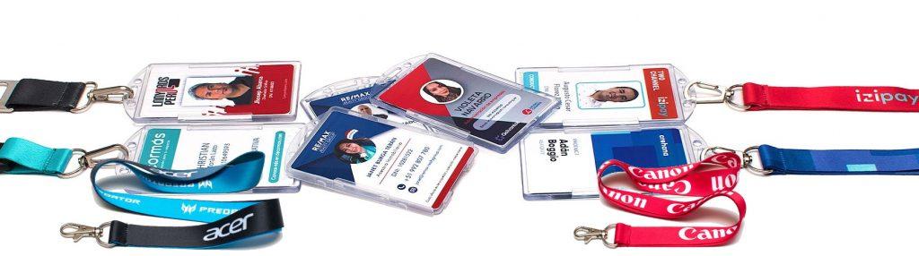 cinta porta credencial personalizada