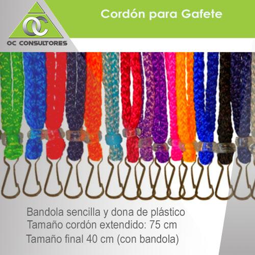 cordones para gafete