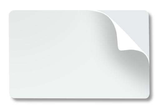 tarjeta pvc sticker